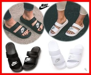 NIKE☆WMNS BENASSI DUO ULTRA SLIDE☆シャワーサン☆22~29cm2色
