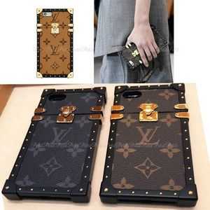 国内発☆Louis Vuitton EYE TRUNK/モノグラムiPhone7Plusケース