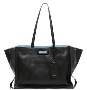 Calfskin Etiquette Shopping Bag