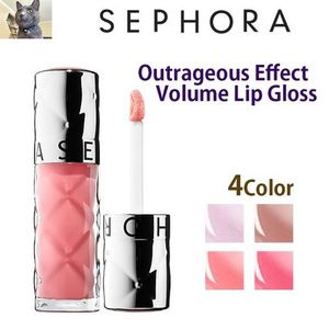 日本未入荷【SEPHORA 】Outrageous Effect Volume Lip Gloss 4色