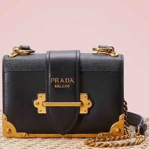 PR559 CAHIER CHAIN SHOULDER BAG