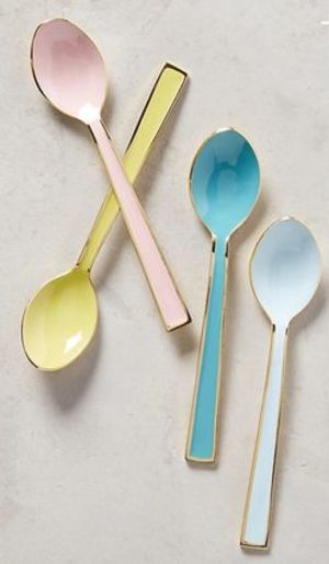 大人気【在庫有】Anthropologie♡Pastel Spoons