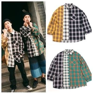 日本未入荷AJO AJOBYAJO x CRAM-IT Check Mixed Shirt 全2色