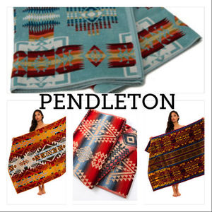 ★PENDLETON★Oversized Jacquard Towels/大判タオル