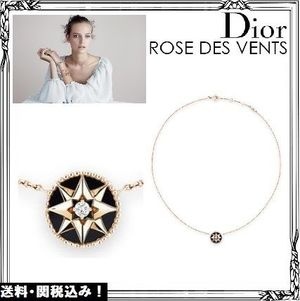 Christian Dior☆ROSE DES VENTS ネックレス 送料・関税込み!