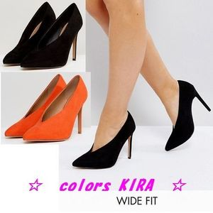 ASOS PRIORITY Wide Fit High Heels♪2色