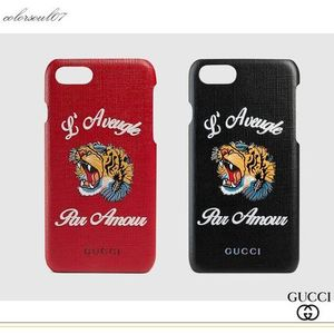 GUCCI 17AW tiger&l aveugle par amour iPhone 7ケース/2色