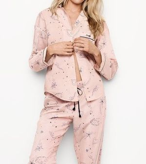 ☆Victoria's Secret☆ Lightweight PJ 長袖 パジャマ セット