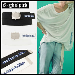 [8 X GD's PICK][DHL安心発送] WEBBING BELT (2色) ベルト