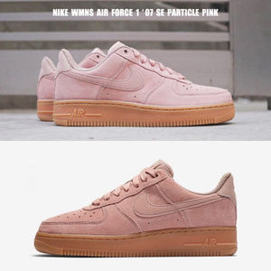 NIKE★WMNS AIR FORCE 1 '07 SE★スウェード★PARTICLE PINK