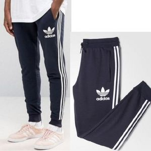 ADIDAS MEN'S ORIGINALS☆CLFN FT TRACK PANTSネイビーAY7783