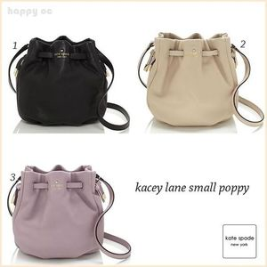 新作セール 巾着バッグ 3色 KATE SPADE kacey lane small poppy