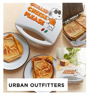 Urban Outfitters☆Snoopy Grilled Cheese Maker