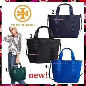 セール 新作 Tory Burch  Quinn Small Zip Tote 便利2way トート