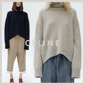 【国内発】CELINEセリーヌ☆asymmetrical turtleneck cashmere