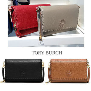 【Tory Burch】Marion Flat Wallet Crossbody ♪ 関税送料込