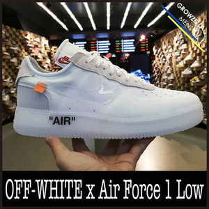 ★【NIKE】安心追跡 ナイキコラボ Off-White x Air Force 1 Low