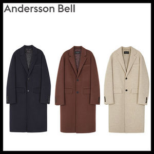 [AnderssonBell][DHL]VINCENT HANDMADE WOOL COAT awa114m (3色)