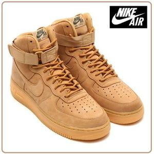 ☆国内正規品☆Nike(ナイキ)AIR FORCE 1 HIGH '07 LV8 WB FLAX