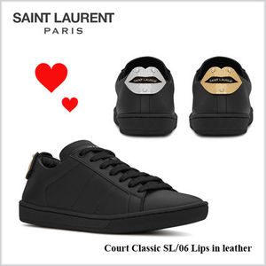 17-18AW★Saint Laurent★Court Classic SL/06 レザースニーカー