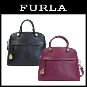 【即発3-5日着】FURLA★PIPER SMALL DOME SHOULDER★2waysバッグ