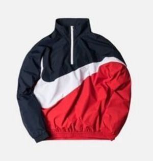 限定コラボ★送料込み★KITH xNIKE Big Swosh Quarter-Zip
