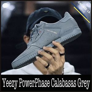 ★【adidas】追跡発送 Yeezy PowerPhase Calabasas Grey グレー
