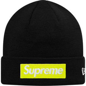 17 week FW17 (シュプリーム) X New Era  Box Logo Beanie