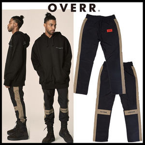 韓国の人気[OVERR]★17FW SCHEME BLACK PANTS