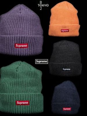 FW17 ♡ Supreme HEATHER LOOSE GAUGE  ビーニー ♡