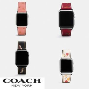 大人気!COACH 新作 Apple Watch Band 全4色☆