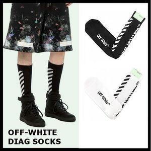 【Off-White】DIAG SOCKS 2色 OMRA006F17402126