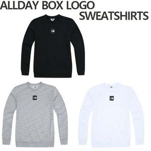 THE NORTH FACE★ALLDAY BOX LOGO SWEATSHIRTS★NM5MI56-3色