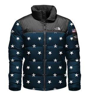 オリンピック★海外限定★The North Face IC Nuptse Jacket Navy