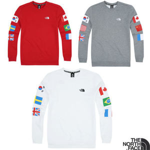 THE NORTH FACE 新作 M'S FLAG CREW Tシャツ