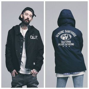 日本未入荷 [SAINT PAIN]  SP CALIF HOODED COACH JKT