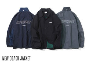 日本未入荷[COVERNAT] NEW COACH JACKET BLACK