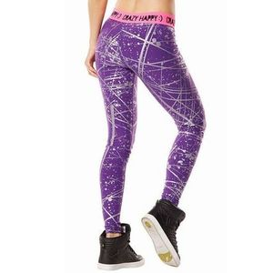 ☆ZUMBA・ズンバ☆Hyper Melt Metallic Long Leggings PL