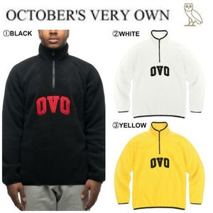【Drake愛用】17FW新作☆OVO☆VARSITY OVO POLARTEC PULLOVER