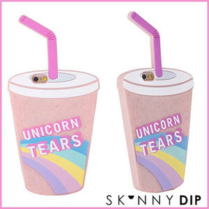 SKINNYDIP☆iPhone6 iPhone5s/5 ドリンク UNICORN TEARSシリコン