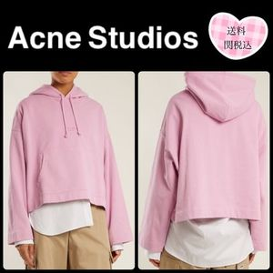 Acne Studios★Joghy cotton スウェットパーカー Lavender-pink
