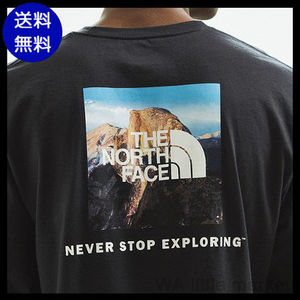 【送料無料】THE NORTH FACE Half Dome Photo Box 長袖Tシャツ