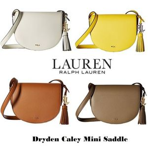 【SALE】ラルフローレン☆本革Dryden Caley Mini Saddle Bag