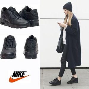 ☆⌒'*正規品★Nike Air Max 90 Leather【Black】
