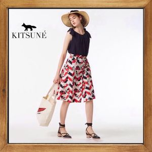★MAISON KITSUNE  《ALL OVER VENICE PAIGE SKIRT》送料込み★