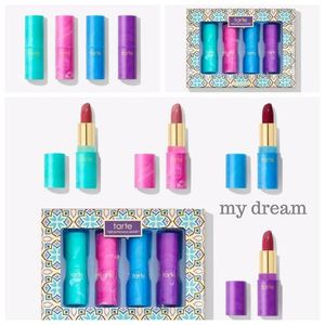 ホリデー限定☆tarte☆mermaid kisses lipstick set (4本)