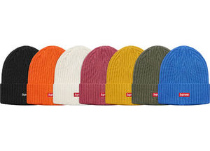 Week1新作!SUPREME18SS★OVERDYED RIBBED BEANIE