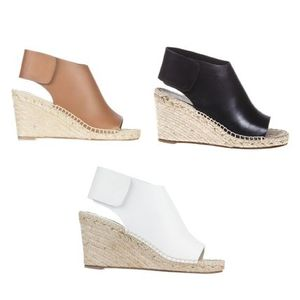 大人気! CELINE★ ESPADRILLES WEDGE SANDALS 選べる3色♪