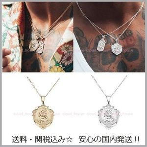 送料税込【Chained&Able】St Christopher Medallion ネックレス