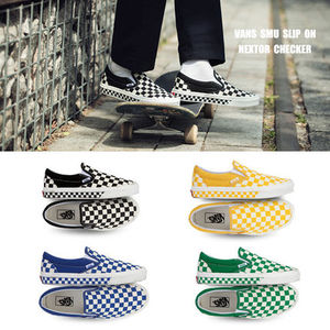VANS★SMU SLIP ON★NEXTOR CHECKER★チェック柄 25.5~28cm★4色
